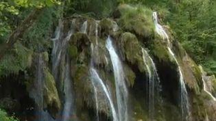 Cascade des Tufs (capture écran) (FRANCE 3)