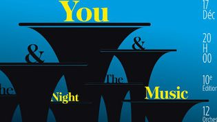 """L'affiche 2012 du concert annuel """"You & the Night & the Music"""" à l'Olympia  (TSF Jazz)"""