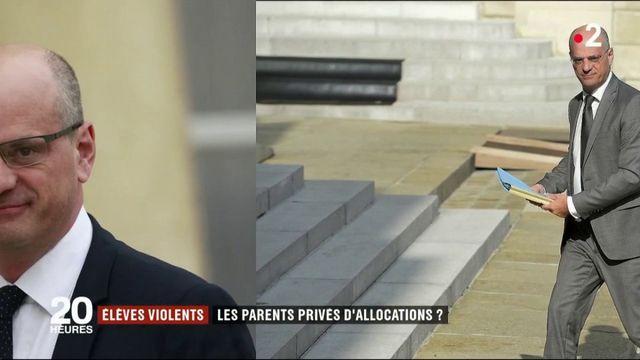 Violences à l'école : les parents des élèves violents privés d'allocations familiales ?