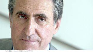 L'homme d'affaires Ernest-Antoine Seillère, ancien patron du Medef, à Paris en 2003. (WITT/SIPA / SIPA)