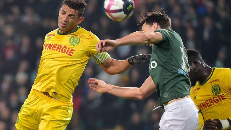 Le défenseur nantais Diego Carlos (ROMAIN LAFABREGUE / AFP)