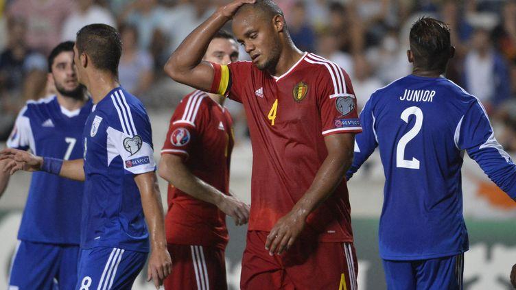 Pas d'Euro pour le capitaine belge Vincent Kompany (DIRK WAEM / BELGA MAG)
