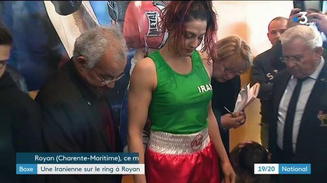 Sport : une Iranienne va disputer pour la première fois un match de boxe officiel