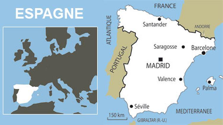 L'Espagne, victime de la crise économique et financière (AFP)