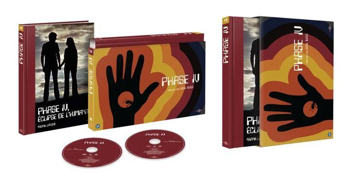 "Le coffret Ultra Collector de ""Phase IV"" de Saul Bass. (CARLOTTA FILMS)"