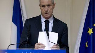 Le procureur de la République de Paris, François Molins, le 22 décembre 2014 à Paris. (KENZO TRIBOUILLARD / AFP)