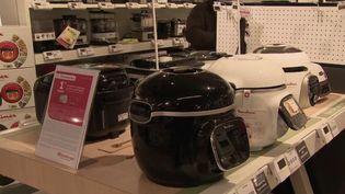 Les ventes de petit électroménager, comme les machines à pain, mais aussi les broyeurs à café ou les robots aspirateurs, ont explosé en 2020.  (CAPTURE ECRAN FRANCE 2)