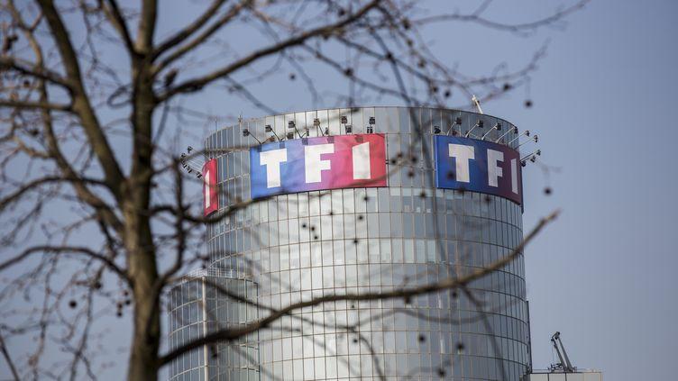 Le siège du groupe TF1 à Boulogne-Billancourt (Hauts-de-Seine), le 17 mars 2015. (MAXPPP)