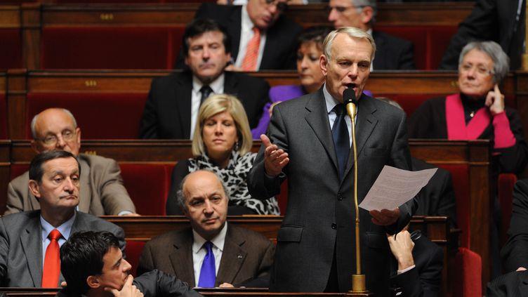 Le président du groupe PS à l'Assemblée nationale, Jean-Marc Ayrault, le 13 décembre 2011. (WITT / SIPA)