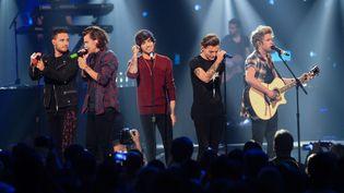 """Les """"One Direction"""" en septembre dernier à Las Vegas.  (Powers Imagery/AP/SIPA)"""