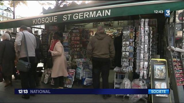 Les kiosquiers de Paris à bout de souffle