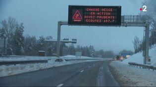 Ain : après une nuit très compliquée, la situation revient à la normale sur l'A40 (FRANCE 2)