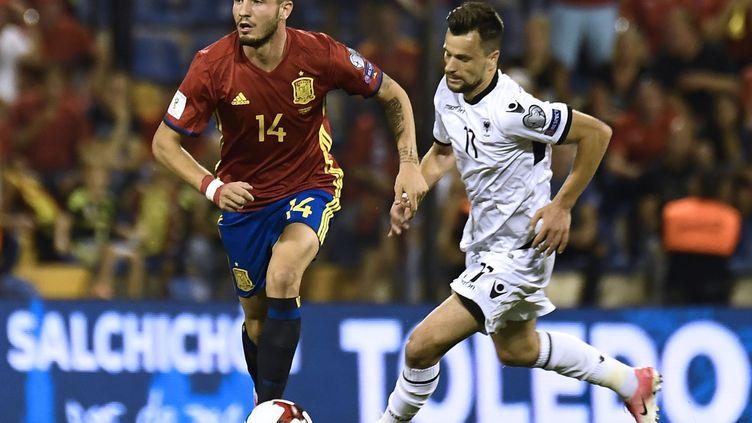 L'Espagnol Raul Niguez (JOSE JORDAN / AFP)