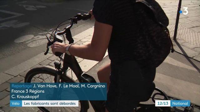 Les fabricants de vélos débordés
