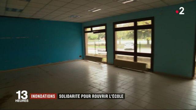 Inondations : solidarité pour rouvrir l'école