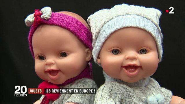 Jouets : retour de la production de poupées en Europe
