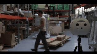 """Le """"robot"""" Numii analyse en temps réel le travail humain (Aio)"""