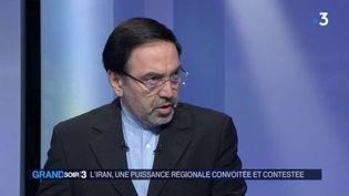Abolghassem Delfi, ambassadeur iranien en France. (FRANCE 3)