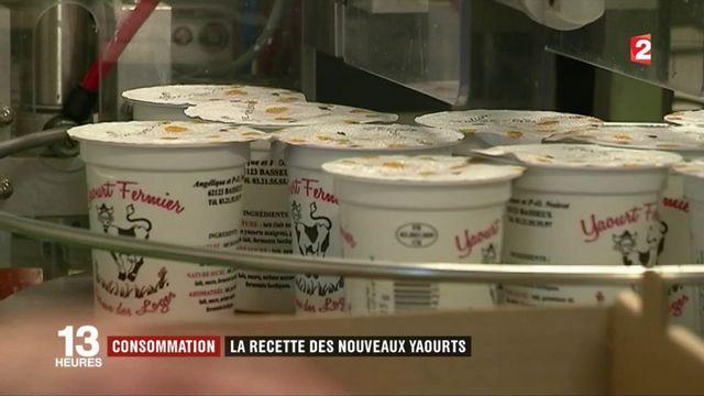 Consommation : la recette des nouveaux yaourts