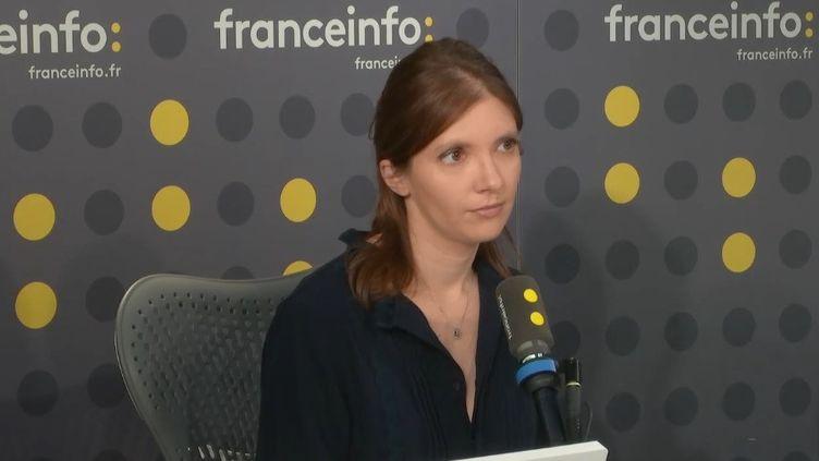 Aurore Bergé. (RADIO FRANCE)