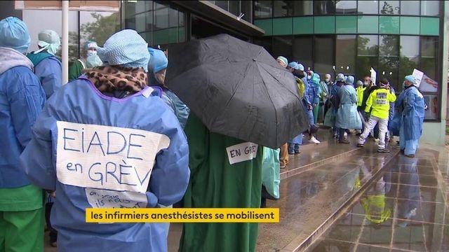 Des infirmiers anesthésistes réclament une meilleure reconnaissance