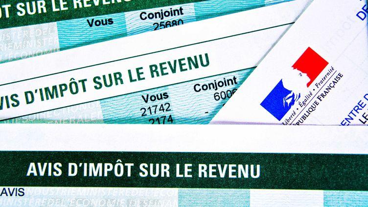Les avis d'imposition sur le revenu arrivent dans les boîtes aux lettres des Français le 22 août 2013. (GILE MICHEL / SIPA)