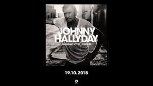 """La pochette du dernier album de Johnny Hallyday, """"Mon pays c'est l'amour"""". (WARNER MUSIC FRANCE)"""