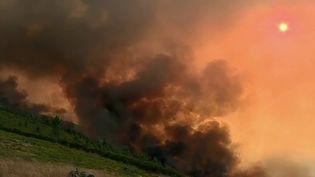 Le Portugal est en état d'alerte alors qu'un gigantesque incendie ravage une partie du centre du pays. Près de 800 pompiers luttent contre les flammes attisées par les chaleurs et les vents violents. (France 2)
