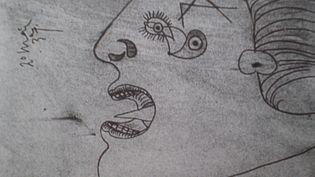 Tête de femme - Etude préliminaire pour Guernica  (DR)