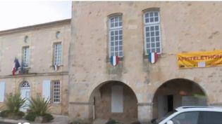 Mairie de Blasimon (Gironde). (FRANCE 2)