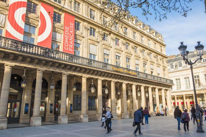 La façade la Comédie-Française à Paris. (GARDEL BERTRAND / HEMIS.FR / HEMIS.FR)