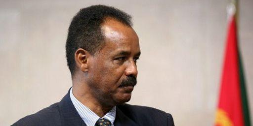 Le président érythréen, Issais Afeorki, le 4 mai 2007 à Bruxelles (AFP - GERARD CERLES )