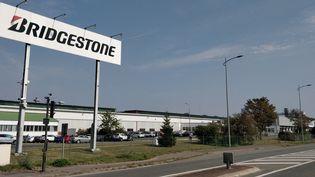 L'usine Bridgestone de Béthune, dans le Pas-de-Calais. (NICOLAS MATHIAS / FRANCE-INTER)