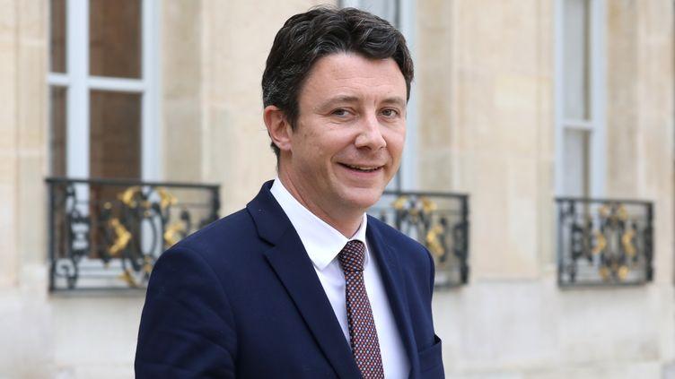Benjamin Griveaux, à Paris, le 11 avril 2018. (LUDOVIC MARIN / AFP)