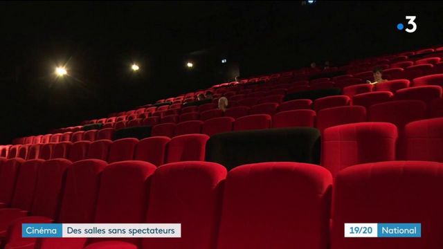 Cinéma : des salles désespérément vides