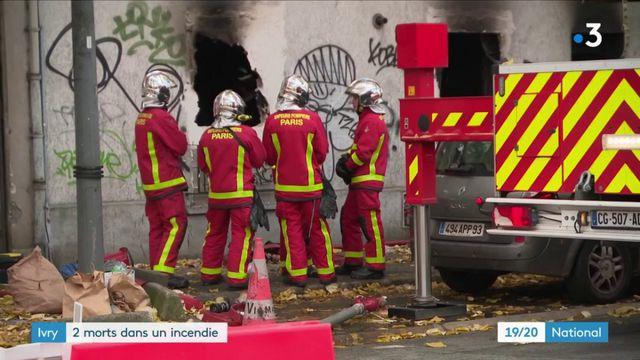 Val-de-Marne : un incendie fait deux morts à Ivry-sur-Seine