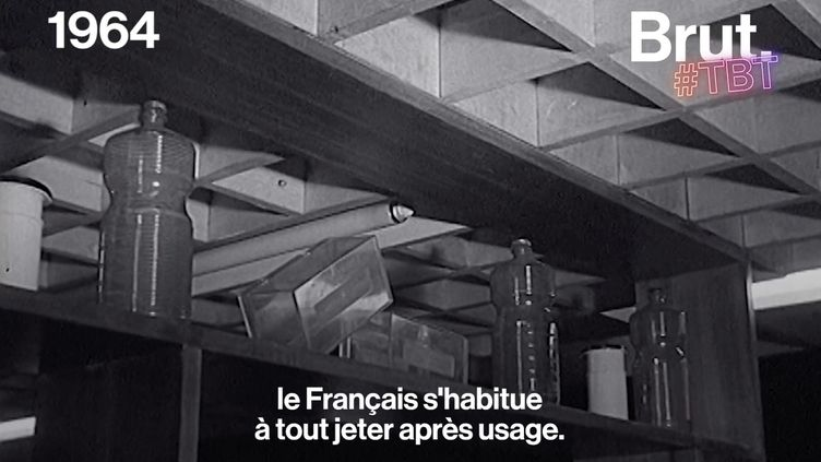 VIDEO. En 1964, le salon de l'emballage vantait les avantages du tout jetable (BRUT)