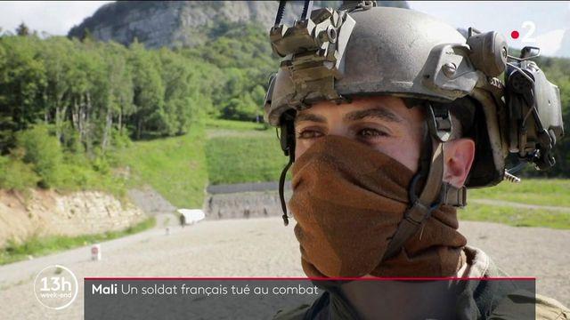 """VIDEO. """"Ce métier est une passion, un peu une drogue"""" : le témoignage de Maxime Blasco avant son déploiement au Mali"""