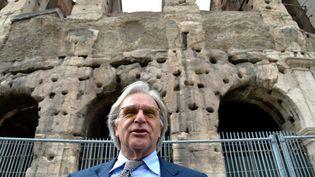 Diego Della Valle, principal mécène de la restauration du Colisée à Rome  (ALBERTO PIZZOLI / AFP)