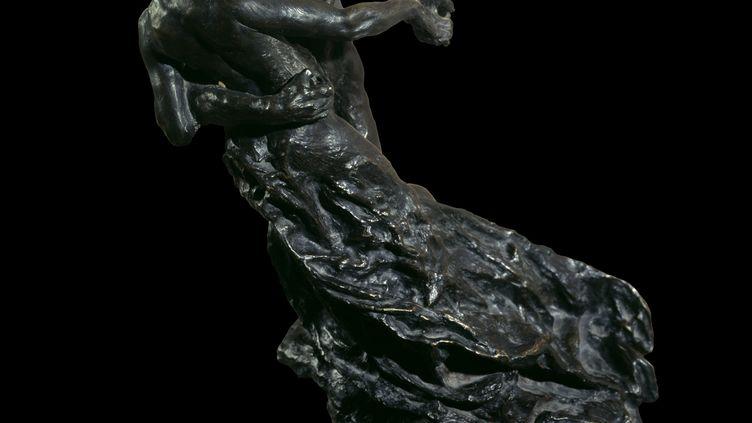 """""""La Valse"""", sculpture en bronze de Camille Claudel, prise en photo le 28 septembre 2016. (LEEMAGE / AFP)"""
