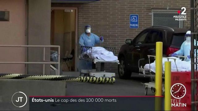 États-Unis: le cap des 100000 morts franchi