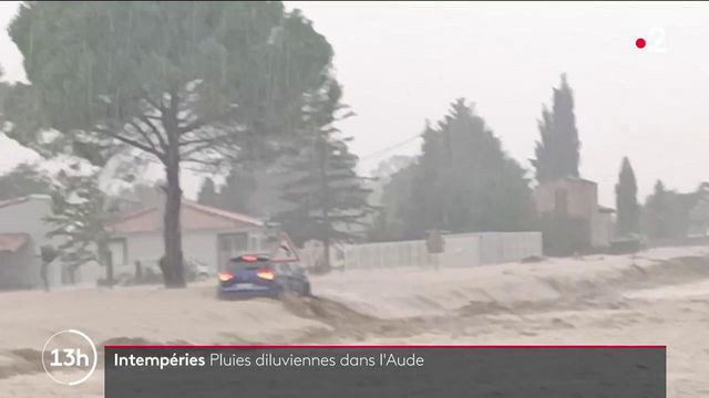 Intempéries dans l'Aude : de nombreuses habitations détruites par les inondations