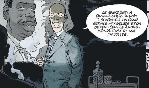 Un homme de l'Elysée... prénommé Jacques appelle à liquider un leader indépendantiste. (Dargaud)