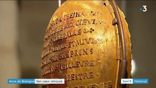 Le reliquaire d'Anne de Bretagne a été retrouvé