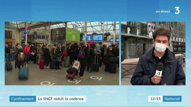 Confinement : la SNCF réduit son offre face à la baisse de fréquentation