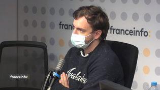 Jean Massiet,streamer sur la plateforme Twitch. (CAPTURE D'ECRAN FRANCEINFO)