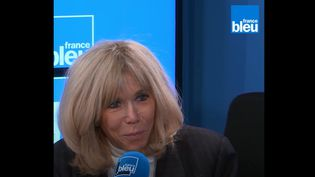 Brigitte Macron, invitée de France Bleu mercredi 10 février 2021.  (FRANCE BLEU / RADIO FRANCE)