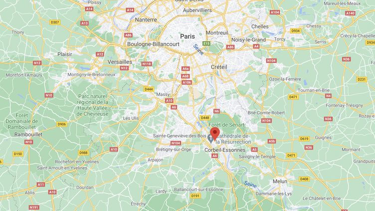 C'est la troisième rixe entre bandes de jeunes en l'espace d'une semaine en Essonne. (CAPTURE D'ÉCRAN GOOGLE MAPS)