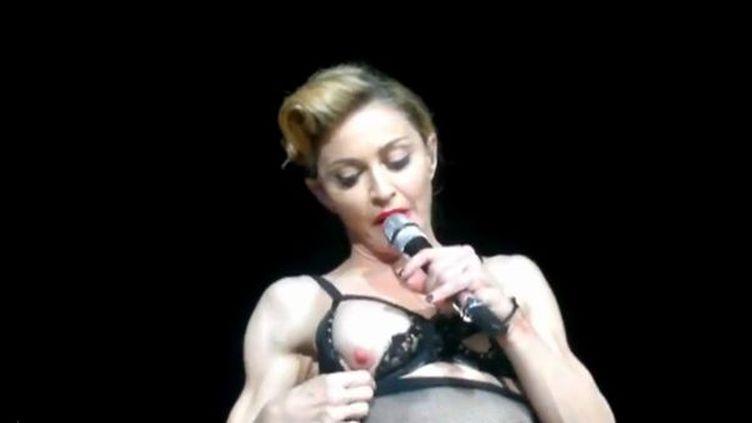 Madonna à Istanbul  (Capture d'écran Youtube)