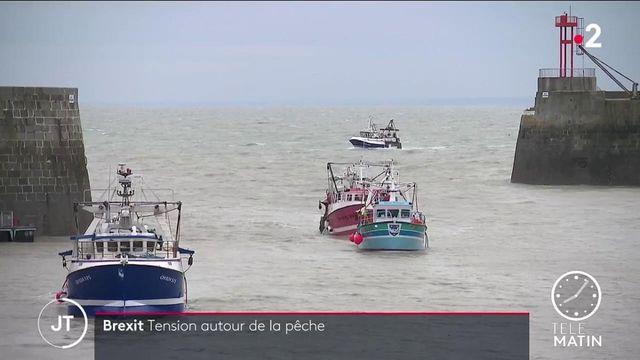 Droits de pêche à Jersey: face à la montée des tensions, Londres envoie deux patrouilleurs